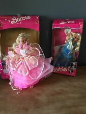 90's Costume Ball Barbie American Beauty Barbie With Boxes