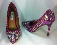 Steve Madden Galaxxie Women Shoes Jeweled Crystal Rhinestone Stiletto Sz 5.5 M