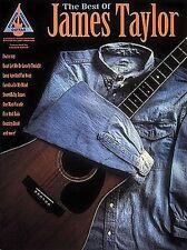 James Taylor Best Of Play apisonadora Fuego Y Lluvia Tablatura Para Guitarra Música Libro