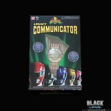 NEW RARE Mighty Morphin Power Rangers Legacy Communicator Red Yellow Blue Black