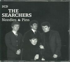 THE SEARCHERS NEEDLES & PINS - 2 CD BOX SET - LISTEN TO ME, MONEY & MORE