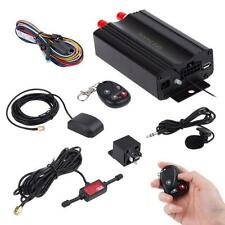 Car GPS SMS GPRS Tracker Device Tracking System Real Time Remote TK103B Black