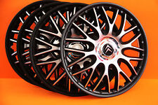 "16"" Citroen C4,C5,etc..Wheel Trims / Covers, Hub Caps,Quantity 4,black&silver"