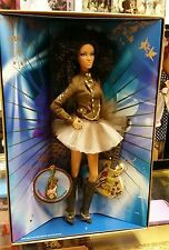 NEW Barbie 2007 NRFB Hard Rock Cafe African American doll Gold Label Collect/Pin