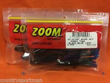 ZOOM Horny Toad (5cnt) #083-124 Black/Blue Legs (2 PCKS)