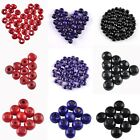 Hot Colorful Round Wood Spacer Loose Beads Charms 3.5 5 7 8 10 12 14 16 mm