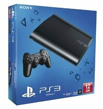 SONY 12GB Black Super Slim PS3 Console PAL AUS *NEW!* + Warranty!!!