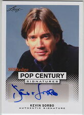 """2013 LEAF POP CENTURY AUTO: KEVIN SORBO - AUTOGRAPH """"HERCULES/ANDROMEDA/THE O.C"""""""
