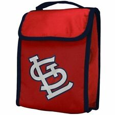 ST. LOUIS CARDINALS ~ Official MLB Soft Insulated Lunch Box with Easy Closure