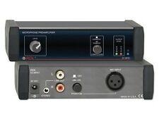 RDL EZ-MPA1 Microphone Preamplifier - Stereo Output with Compressors