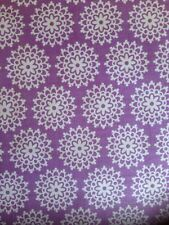 Riley Blake Lovey Dovey Purple Lace Fabric Half Metre