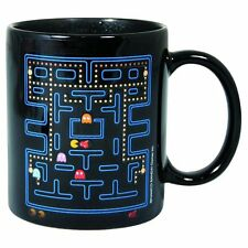 Official Pac-Man Glossary Heat Change Coffee Mug - Colour Changing Boxed Gift