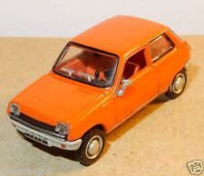 UNIVERSAL HOBBIES UH idem NOREV METAL HO 1/87 RENAULT 5 R5 TL 1972 ORANGE