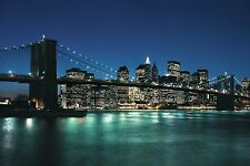 NEW YORK CITY POSTER - 24x36 CITYSCAPE SKYLINE NYC 1506