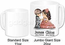 Personalised Gift Romantic Love Couple Mug Jumbo 20oz Valentines Anniversary #6
