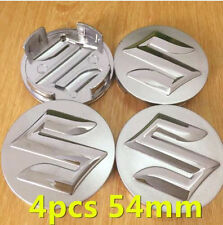 4pcs Newest 54mm SUZUKIs Car logo emblem Wheel Center Hub Cap