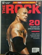 WWE Collectors Issue The Rock 20 Years of Greatness Photos FREE SHIPPING sb