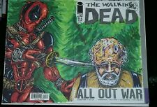 Walking Dead 115 - Deadpool Hershel - BLANK VARIANT COVER Custom Art