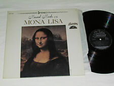 MUSICAL MOODS OF THE MONA LISA LP Sparton Records Canada Stereo Vinyl Album VG