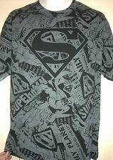 VINTAGE DC COMICS SUPERMAN  SUPERHERO  LARGE  T- SHIRT  VTG OUT OF PRINT