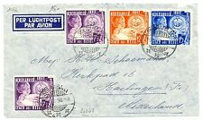 NED INDIE  1936-12-10  SALVATION ARMY STAMPS  ON CV TO HOLLAND   FINE!!
