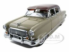 1952 NASH AMBASSADOR AIRFLYTE TAN 1/18 PLATINUM EDITION BY SUNSTAR 5113