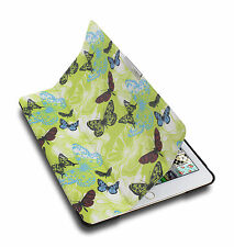 Lente Designs® iPad Air 2 slimline folio/cover/case in floral 'Butterfly Mist'