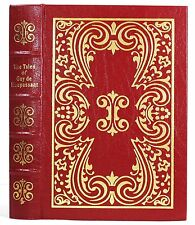 EASTON PRESS THE TALES OF GUY DE MAUPASSANT LEATHER 100 GREATEST BOOKS 1ST EDIT