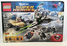 Lego 76003 Superman Battle of Smallville DC Universe Super Heroes 418 pcs Sealed
