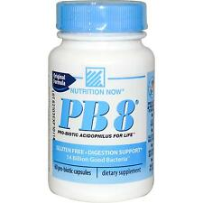 Nutrition Now, PB8, Pro-Biotic Acidophilus, 60 Capsules