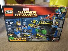 LEGO Marvel Superheroes Hulk Lab Smash 76018 New in Sealed Box MODOK Taskmaster
