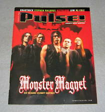 PULSE Monster Magnet Music Magazine RARE 2001 Classic Rock Heavy Metal R&B Blues