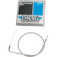 Stainless Steel Braided Idle Cable for Harley Davidson Softails and FX (1984-89)