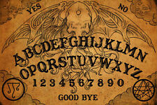 Framed Print - Vintage Ouija Board (Picture Poster Art Ghost Magic Death Dead)