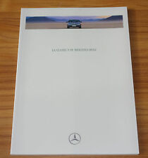 Catalogue MERCEDES Classe S (140) de 1991