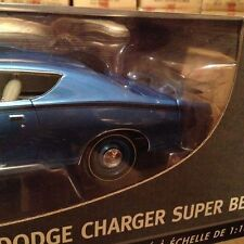 1971 Dodge Charger Superbee BRIGHT BLUE 1:18 Ertl American Muscle 39466