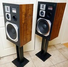 Vintage Pair Hitachi HSA-3124 Hi-Fi speakers.....Beautiful