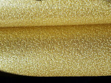 Sparkle Gold Glitter Top Quality Vinyl Feature Wallpaper luxurious look