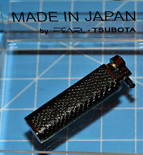 Tsubota Pearl XL BOLBO Snakeskin Leather Flint Lighter Seki City Japan Old Boy ☦