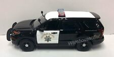 MOTOR MAX 1:24 - 2015 FORD POLICE INTERCEPTOR UTILITY CALIFORNIA HIGHWAY PATROL