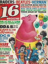 11/66 16 magazine  The Beatles  The Rolling Stones  Paul Revere and The Raiders