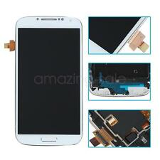 Full LCD Touch Screen Glass Panel Digitizer & Frame For Samsung Galaxy S4 i9505