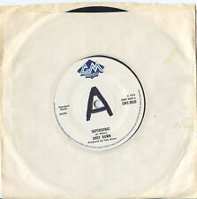 ANDY BOWN/STATUS QUO U.K. 45-SUPERSONIC 1975 tv series theme promo copy