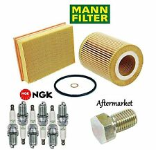 Tune Up Kit Spark Plugs Oil Air Filters for BMW Z3 E36; 2.8L 1997-2001