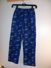 Boys pajamas pants Kansas City Baseball MLB KC Royals (hole in knee) size 8