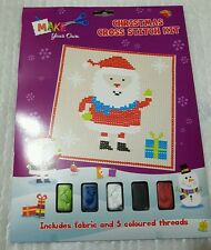 NATALE CALZA REGALO CROSS STITCH KIT adulti bambini