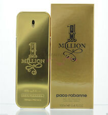 Paco Rabanne 1 Million 3.4oz 100ml Men Original & Sealed One  Million Box Set