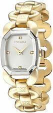 NEW Escada Charlene E2605042 Womens Swiss Quartz Gold tone diamond Watch
