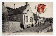 LAON CPA 02 Aisne jolie carte animée du quartier des creutes