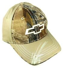 CHEVY CHEVROLET BEIGE REALTREE CAMO RETRO HAT CAP CURVED BILL ADJUSTABLE SWAMP